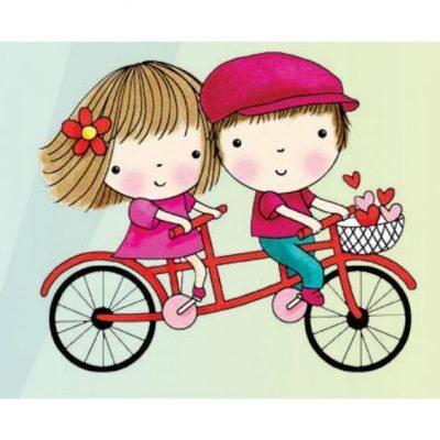 munecas-tiernas-bicicleta