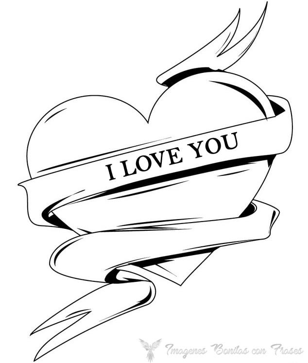 dibujos lindos y tiernos de corazones