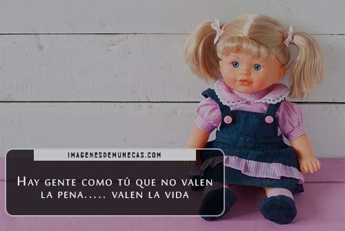 muñecas con mensajes de amor