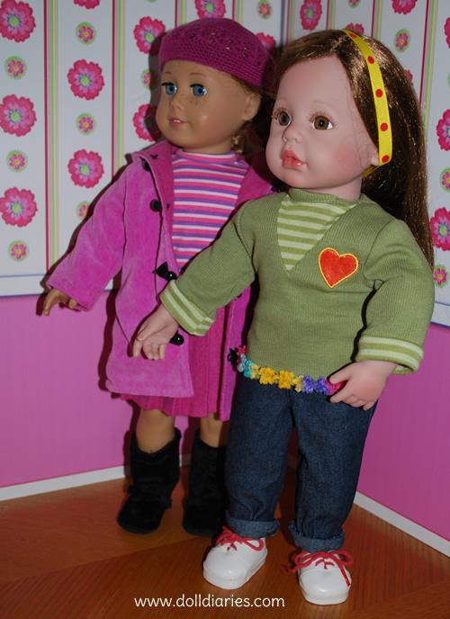 2 muñecas tiernas