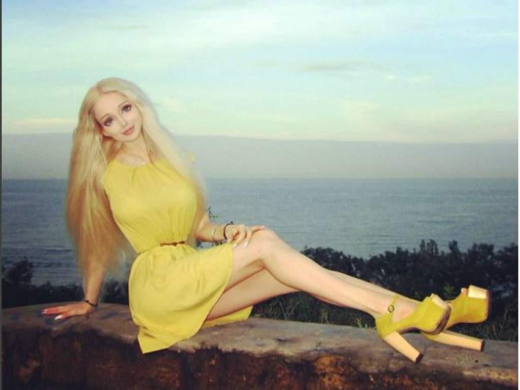 Valeria Lukyanova barbie humana