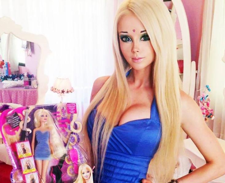 Valeria Lukyanova la barbie humana