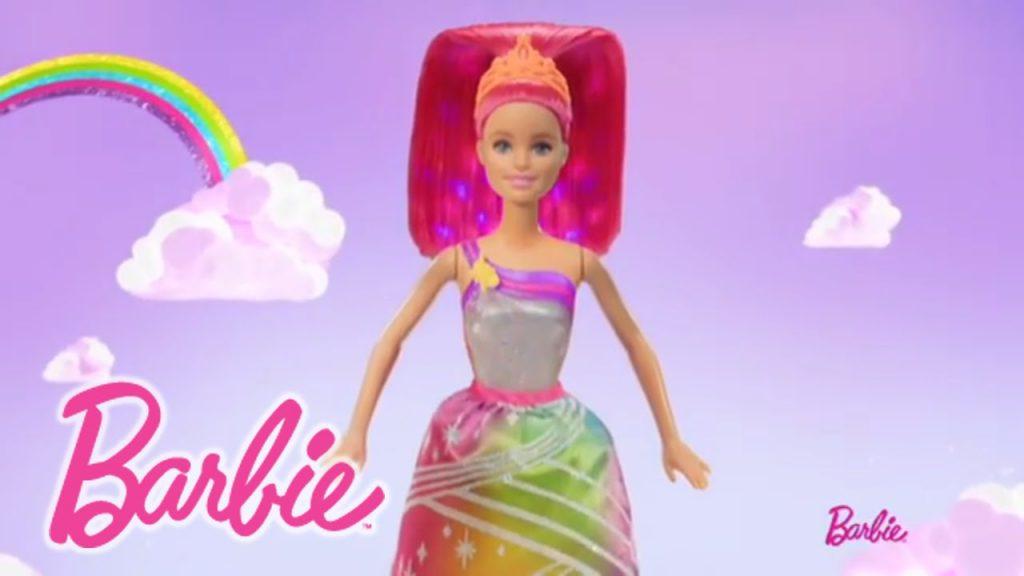 barbie princesa arcoiris