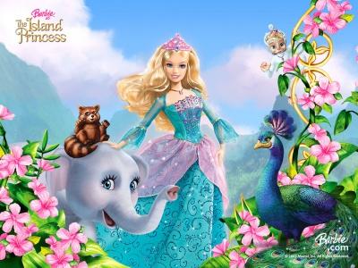 barbie princesa de la isla