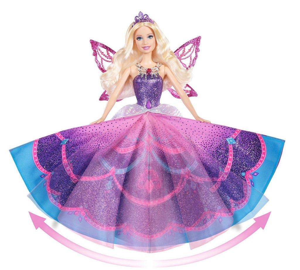 barbie princesa vestido