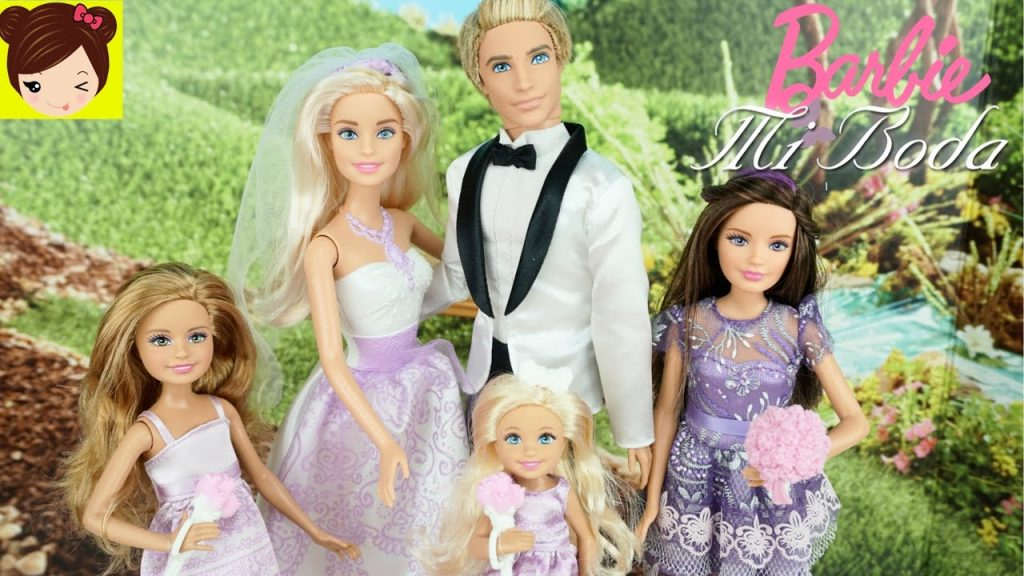 barbie y ken boda