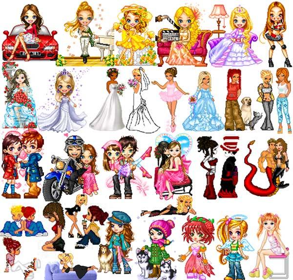 galeria de muñecas animadas