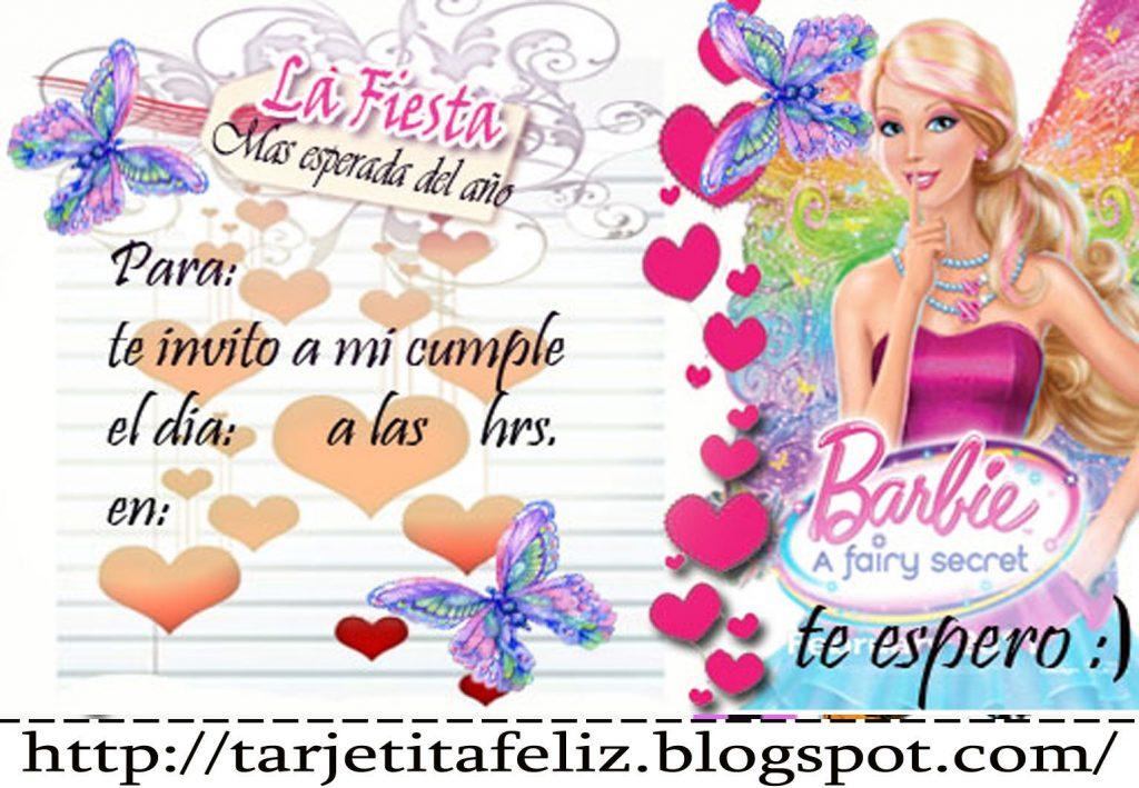 imagenes barbie para cumpleaños