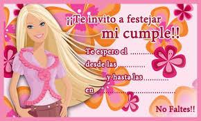 imagenes de barbie para cumpleaños