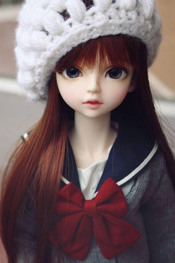 muñeca bonita moño