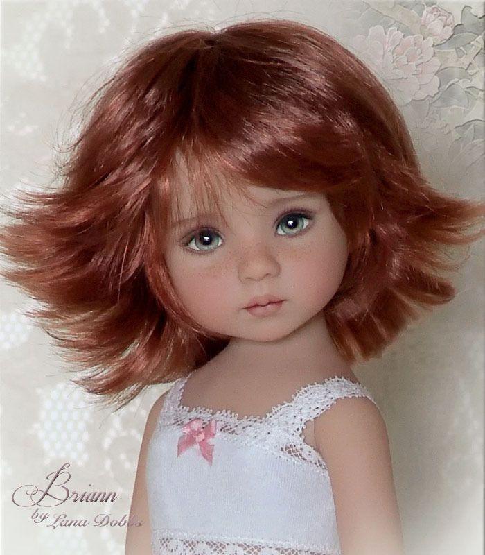 muñeca cabello corto