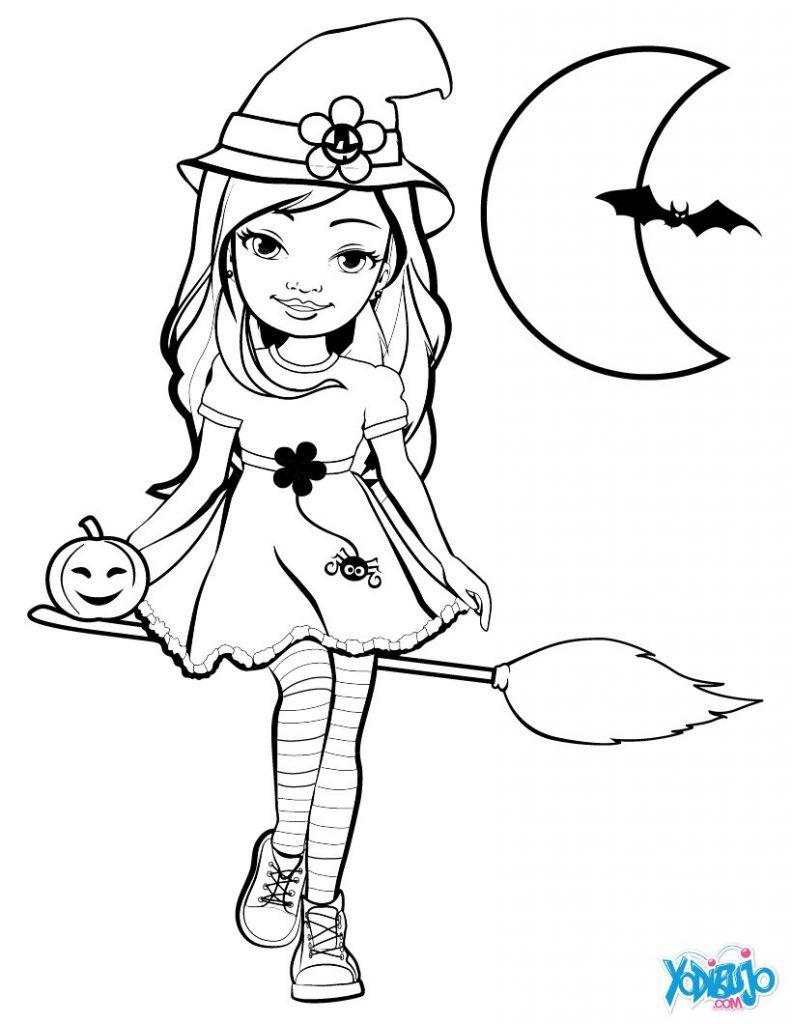 muñeca de halloween para pintar