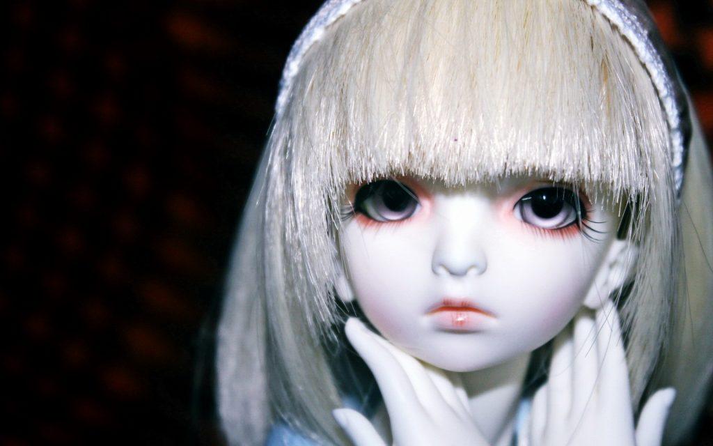muñeca tierna de porcelana