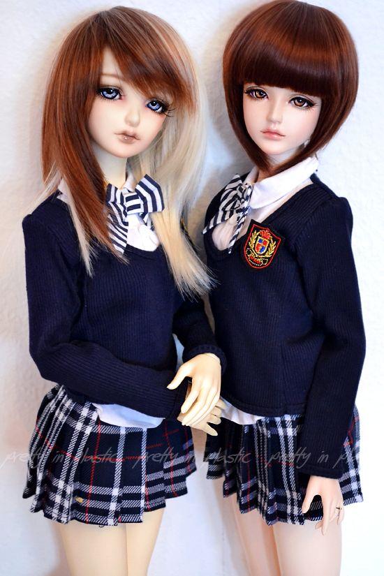 muñecas japonesas colegialas