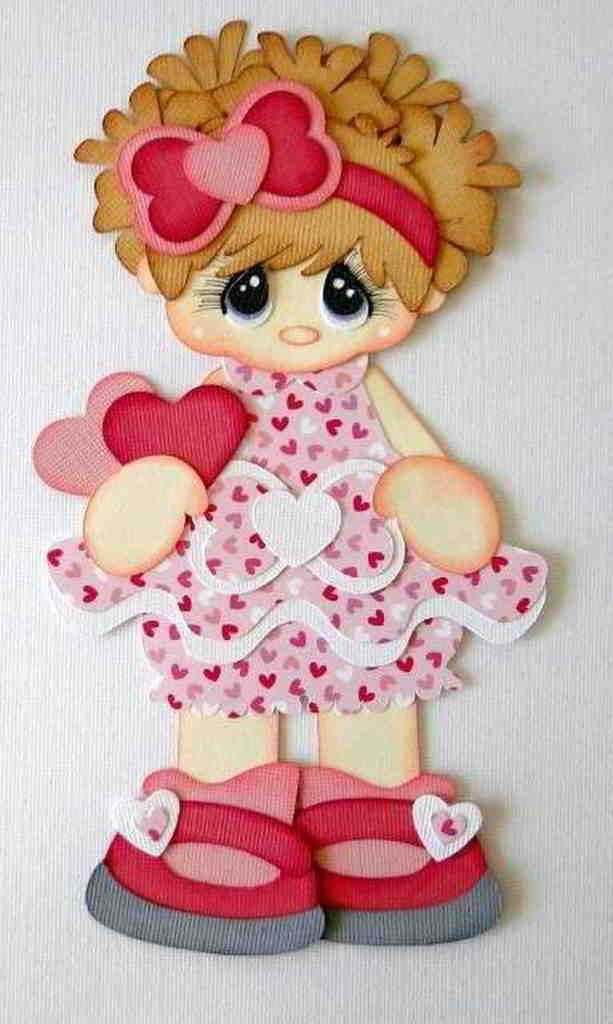 tierna muñeca rosada foami